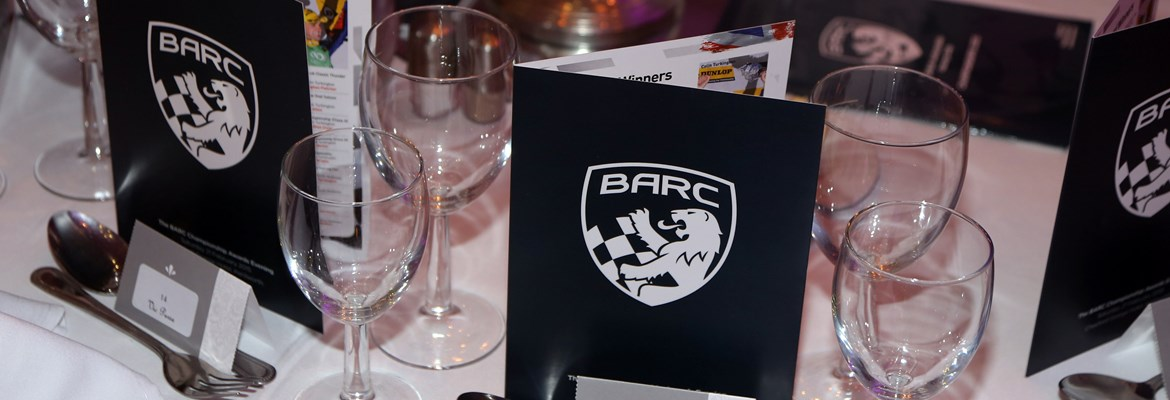 Saturday 18th February 2017 is a date for the diaries as the champions will be honoured at the annual BARC Championship Awards Evening