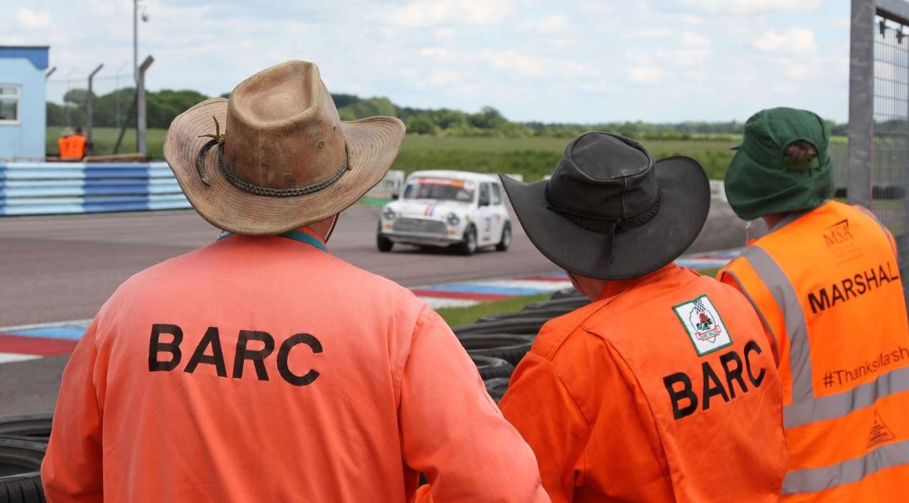 Become a BARC Marshal