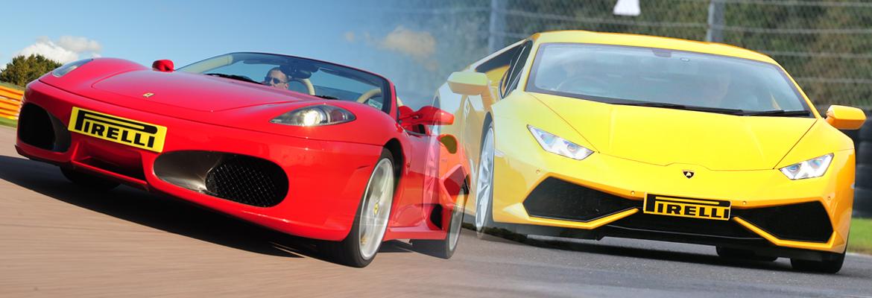 20% Off Ferrari & Lamborghini Experiences