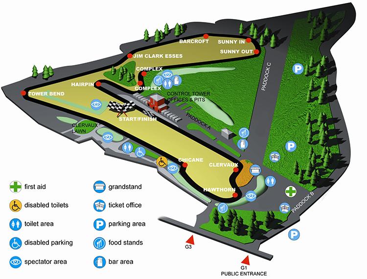 Circuit Map