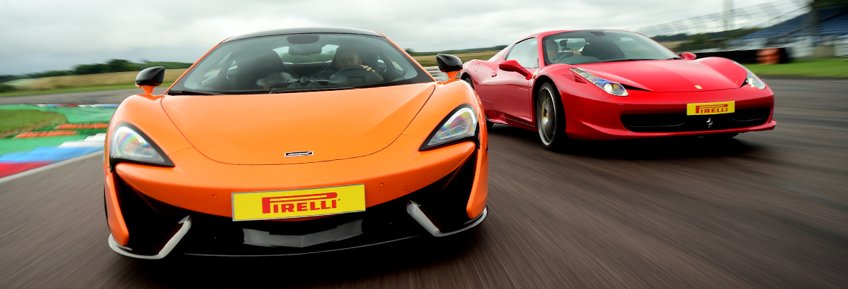 Spring Supercar Driving Experience Offer