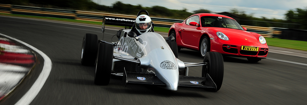 Two Racing Car Experiences for £250