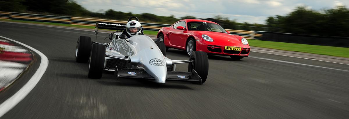 Drive a Racing Car at Croft