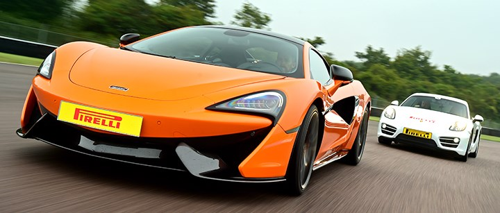 Photo of McLaren 570S PLUS+ Driving Experience