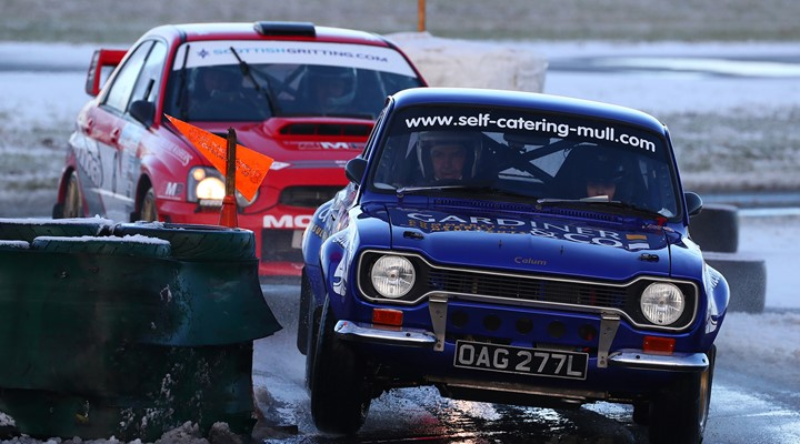 Photo of The Swift Signs Christmas Stages Rally