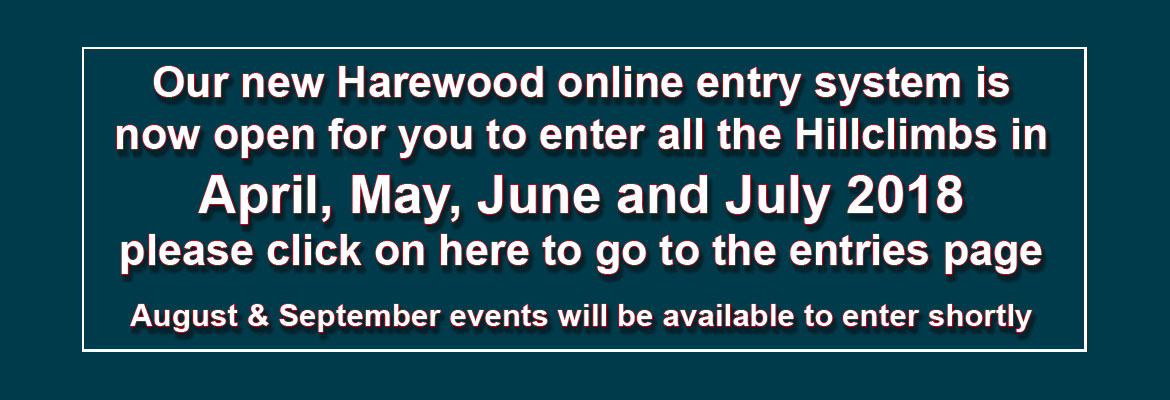 Harewood Online Entry System