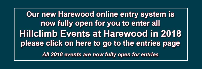 Harewood Online Entry System
