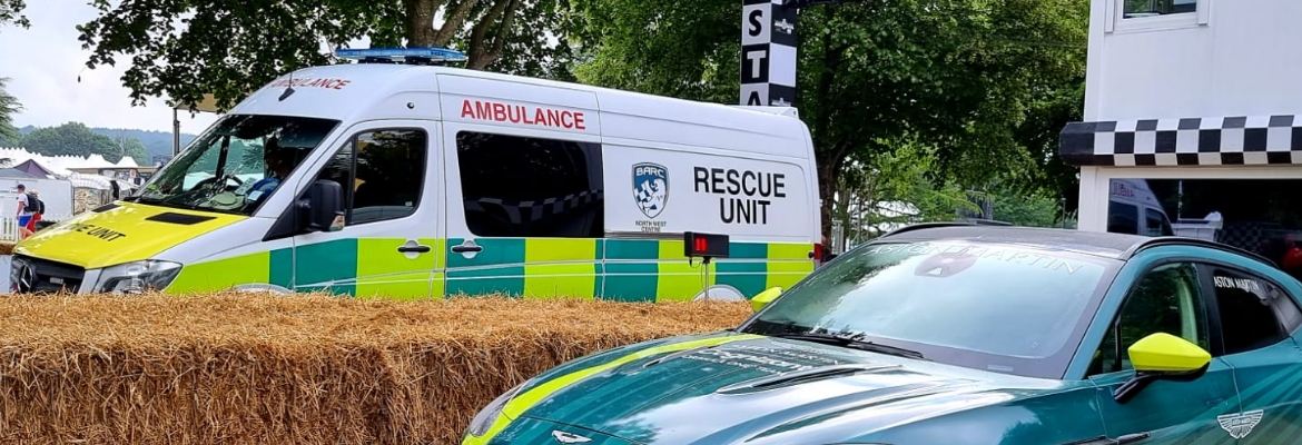BARC North Western Rescue Unit at 2021 Goodwood Festival of Speed