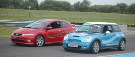 Photo of Mini Cooper S & Honda Civic Type R Experience