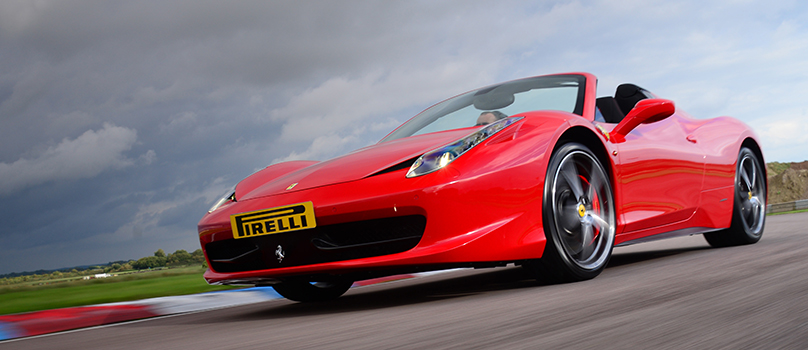 Photo of the Ferrari 458