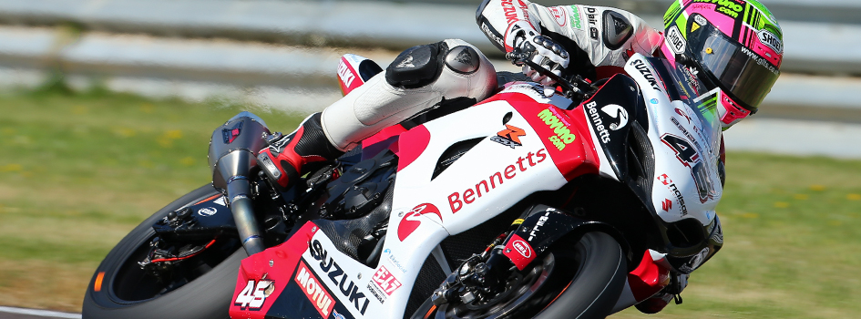 Tommy Bridewell at Thruxton