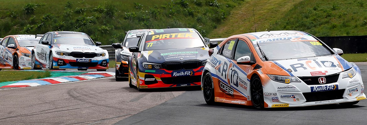 British Touring Car Championship at Thruxton Circuit