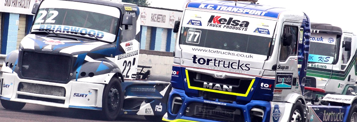 British Truck Race Meeting @ Thruxton Circuit | England | United Kingdom