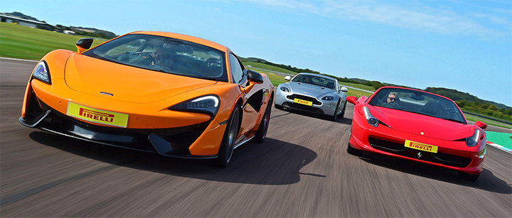 Photo of Supercar Trio Driving Experience