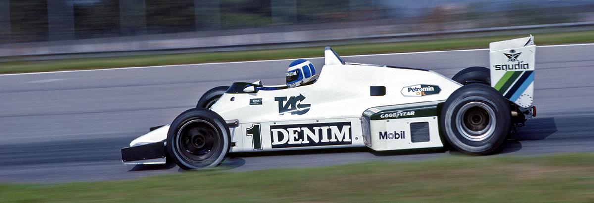 Williams F1 to 50th Anniversary Celebration