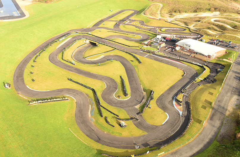 thruxton kart centre circuit layouts
