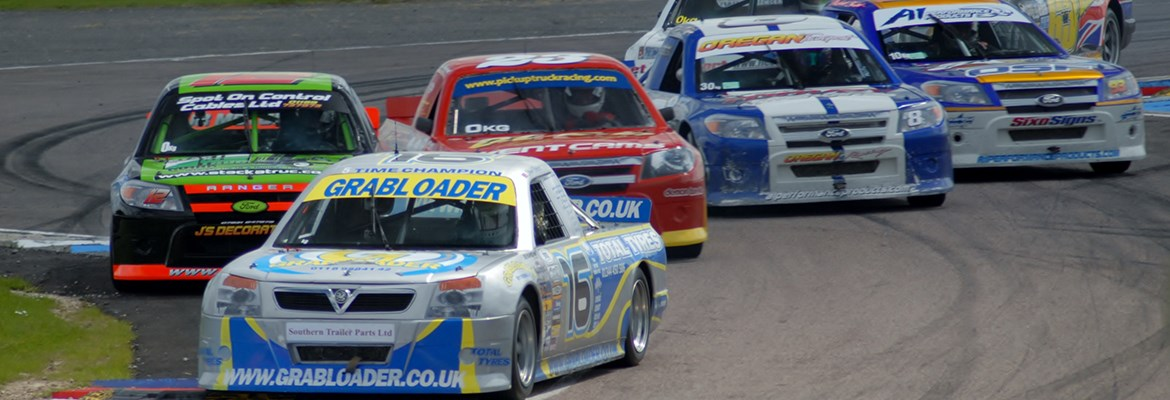 Photo of truck racing at Thruxton