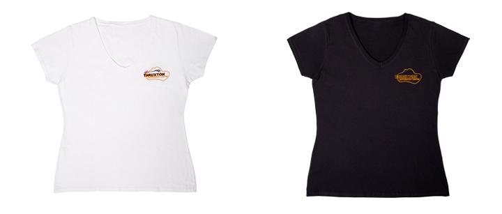 Image of Ladies Skinny T-shirt