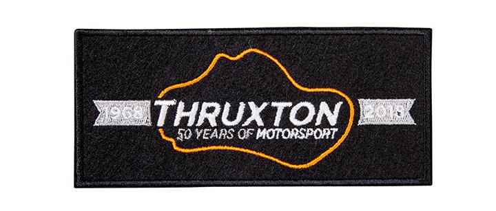 Image of Thruxton 50th anniversary cloth badge