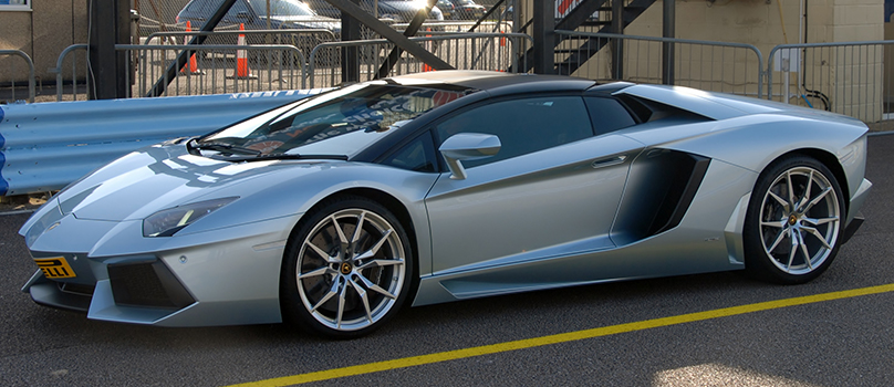 Photo of the Lamborghini Aventador