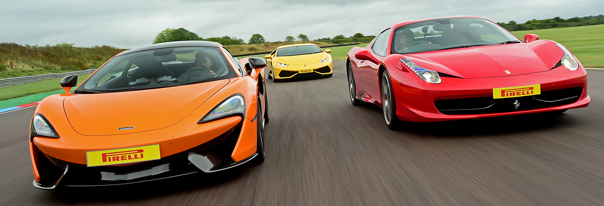 Supercar Trio Driving Experience Thruxton Circuit